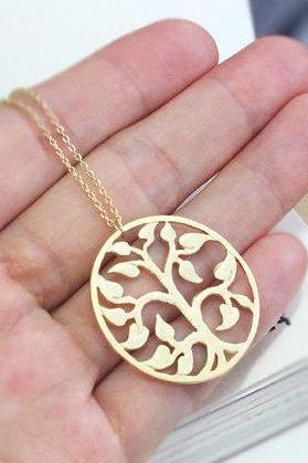 family tree necklace, mothers day, tree of life jewelry, 24' long necklace, tree necklace