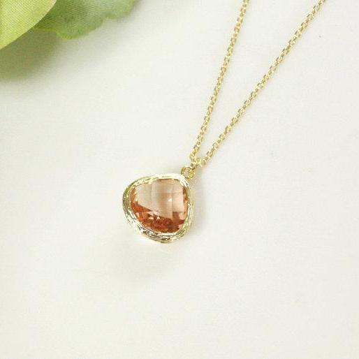 gold solid longevity pendant hot peach new authentic item sale yellow